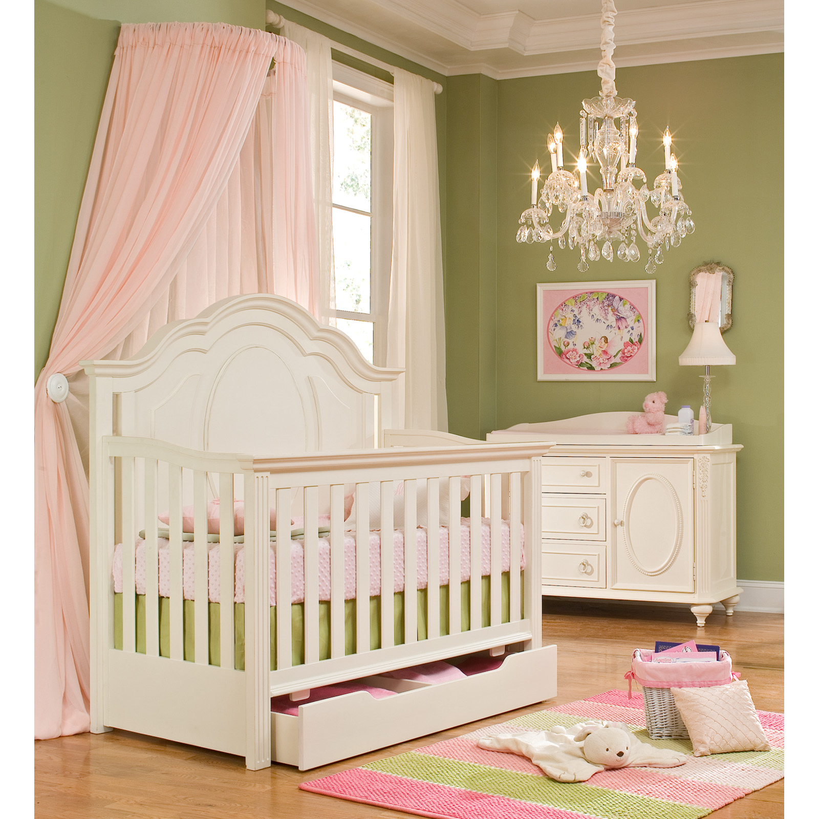 Legacy Classic Bedroom Furniture Legacy Classics Enchantment 4 In 1 Convertible Crib Collection At