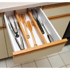 snugly organizer flatware dividers fit com attractive adjustable drawer dp into to amazon kitchen any