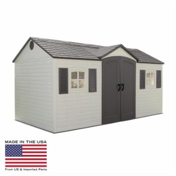 Lifetime 15 x 8 ft. Outdoor Garden Shed