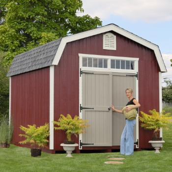 Little Cottage 10 x 20 ft. Woodbury Colonial Panelized Storage Shed