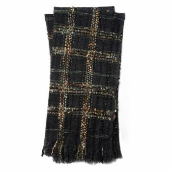 Loloi Rugs Tess Plaid 50L x 60W in. Decorative Throw Blanket
