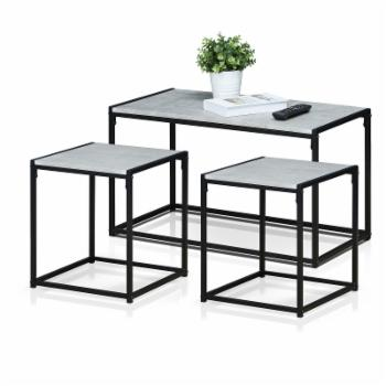 Furinno Modern Coffee Table Set