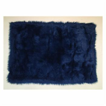 Fun Rugs Flokati Shag FLK-001 Area Rug - Dark Blue