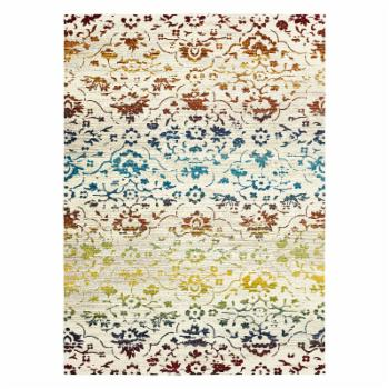 LR Resources Gala Red Floral Indoor Area Rug