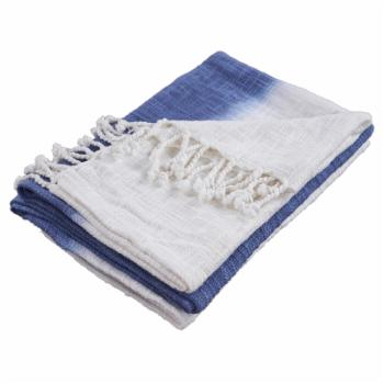 LR Home Shibori Slab Decorative Throw