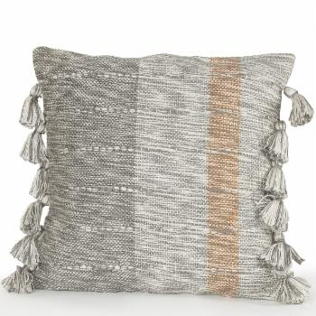LR Home Sophisticated Tasseled Throw Pillow