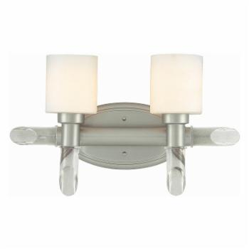 Lite Source Glamis LS-16862SS/FRO Vanity Light