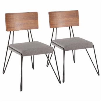 LumiSource Loft Dining Side Chair - Set of 2
