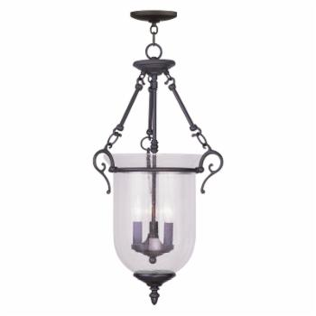 Livex Legacy 5025-07 3-Light Chain Hang in Bronze