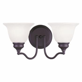 Livex Essex 1352-07 2-Light Bath Light in Bronze