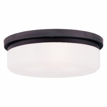 Livex Stratus 7393-07 3-Light Ceiling or Wall Mount in Bronze