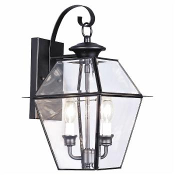 Livex Westover 2281-04 Wall Lantern 16.5H in.
