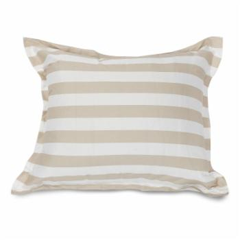 Majestic Home Goods Vertical Stripe Indoor / Outdoor Floor Pillow