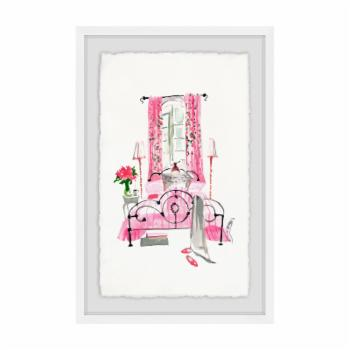 Marmont Hill Bedroom Pink Wall Art