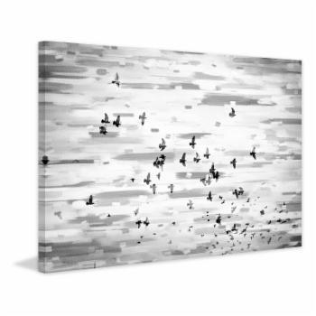 Marmont Hill Birds in Flight Canvas Painting Print