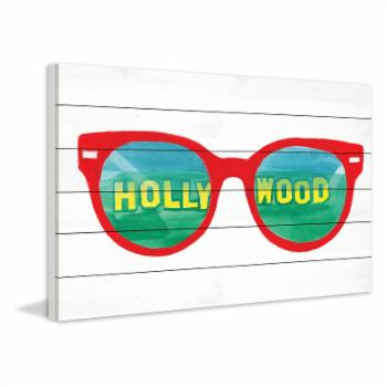 Marmont Hill Hollywood Glasses Painting Print