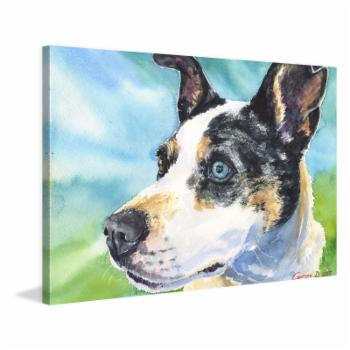 Marmont Hill Australian Cattle Dog Painting Print