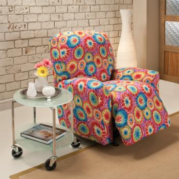 Madison Industries Tie Dye Jersey Recliner Cover