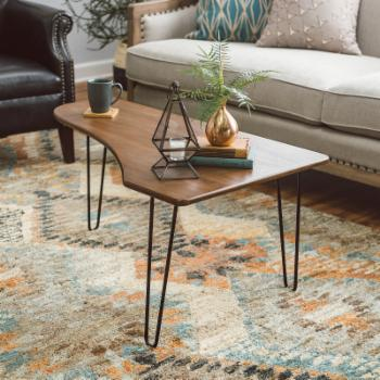 Belham Living Jacobson Coffee Table with Hairpin Legs