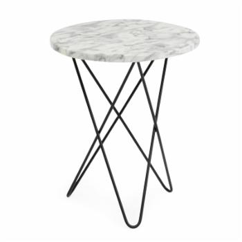 Coral Coast Londyn Faux Marble Patio Side Table