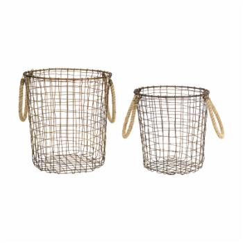Melrose Decorative Basket - Set of 2