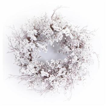 Melrose Mixed Berry Wreath with Snow