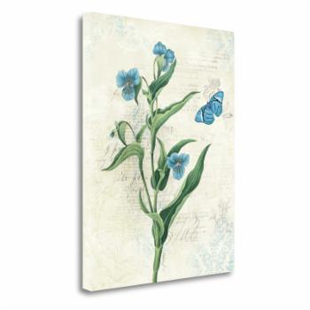 Tangletown Fine Art Booked Blue I Canvas Wall Art By Katie Pertiet