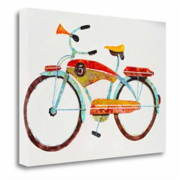 Tangletown Fine Art Bike No. 5 Canvas Wall Art By Anthony Grant