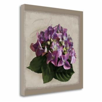 Tangletown Fine Art Botanical Hydrangea Canvas Wall Art By Janel Pahl