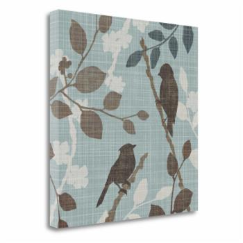 Tangletown Fine Art A Sparrows Garden II Giclee Print on Gallery Wrap Canvas by Tandi Venter