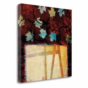 Tangletown Fine Art Building Bridges Canvas Wall Art by Valerie Willson