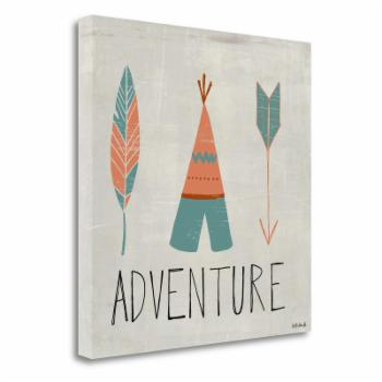 Tangletown Fine Art Adventure By Katie Doucette Canvas Wall Art