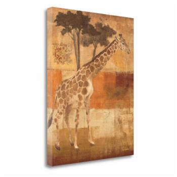 Tangletown Fine Art Animals On Safari I Wall Art