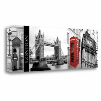 Tangletown Fine Art A Glimpse of London Giclee Print by Jeff Maihara