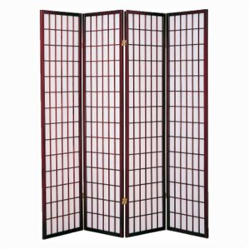 Milton Greens Stars Dean 4 Panel Room Divider