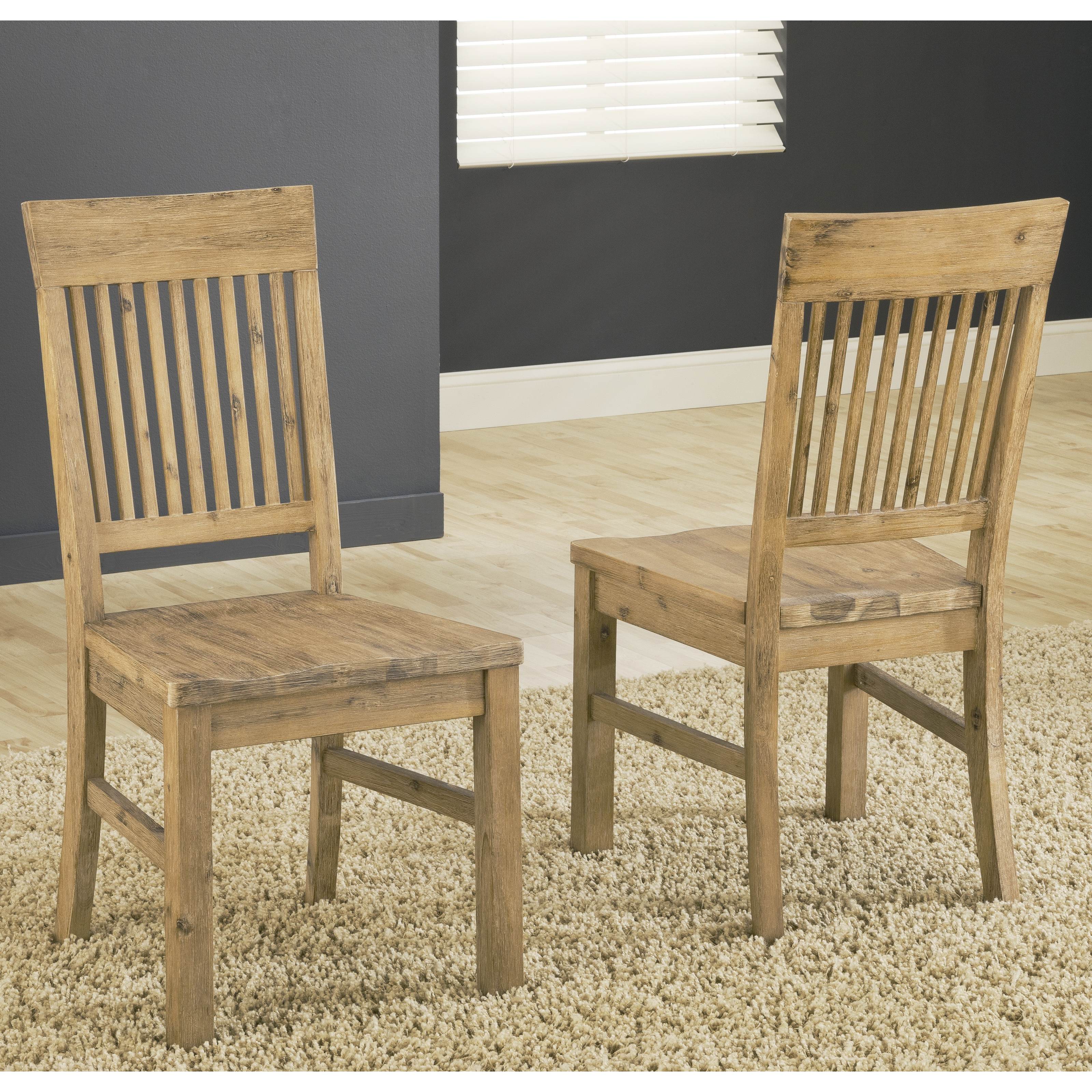 Modus Autumn Solid Wood Dining Side Chair Cider Set of 2