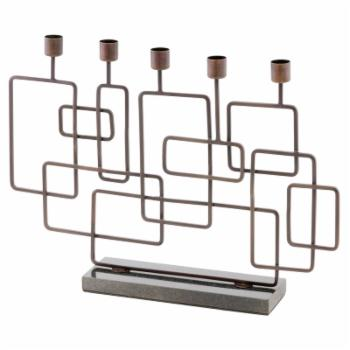 Modern Day Accents Cuadras Squares Candleholder