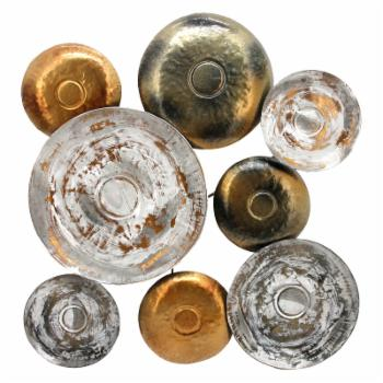 Moes Home Collection Metal Disc Wall Decor