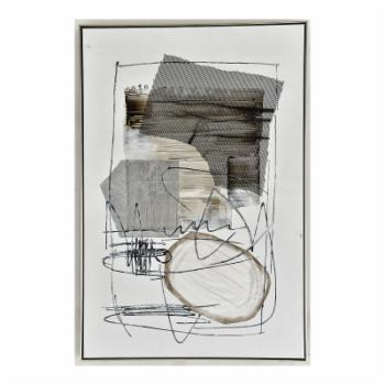 Moes Home Collection Shade Abstract II Wall Art