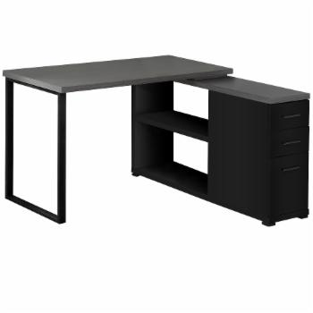 Monarch Specialties Modern Contemporary L Shaped Computer Desk