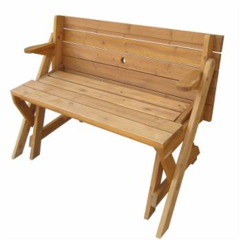 Northbeam Interchangeable Picnic Table And Garden Bench