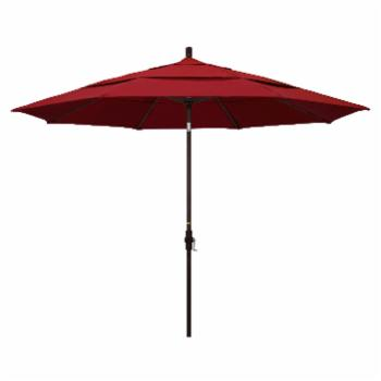 California Umbrella 11 ft. Aluminum Double Vent Tilt Market Umbrella