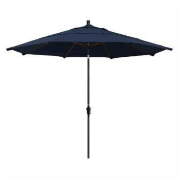 California Umbrella 11 ft. Aluminum Auto Tilt Patio Umbrella