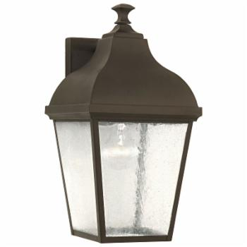 Feiss Terrace Outdoor Wall Lantern - 16H in. Oil Rubbed Bronze