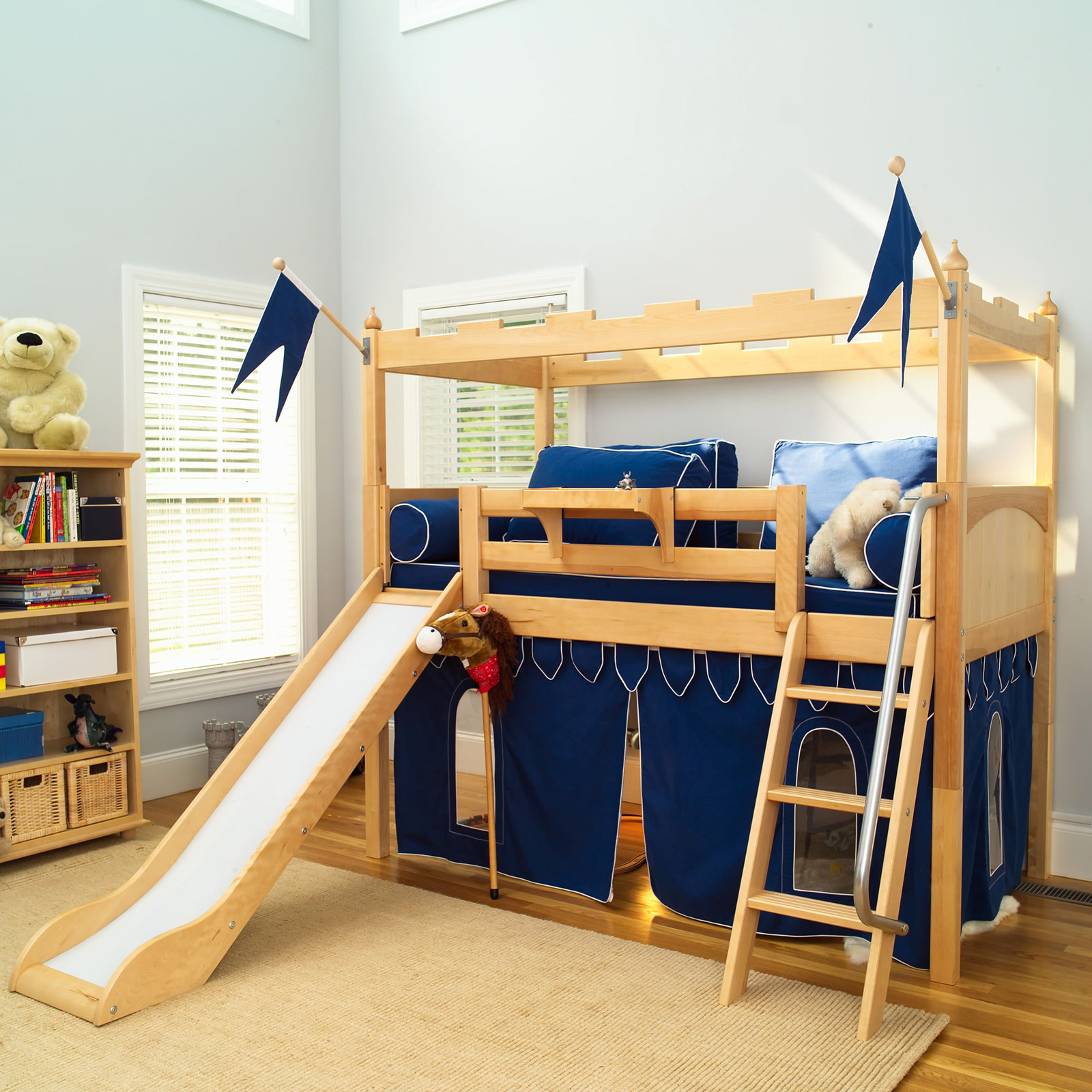 Bunk beds with slide and tent - Bunk Beds With Slide And Tent 18