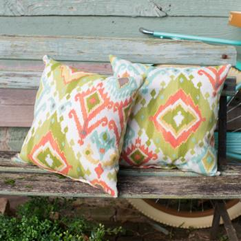 Coral Coast Tuscany 18 in. Outdoor Pillows - Set of 2