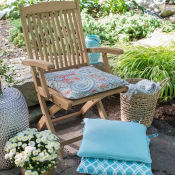 Coral Coast Haven 17 in. Outdoor Corded Chair Cushion