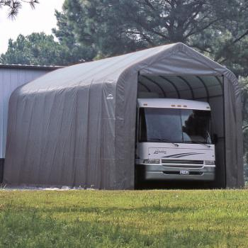 ShelterLogic 15 x 24 x 12 ft. Peak Frame Garage Shelter