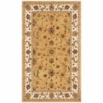 Dynamic Rugs Jewel 70113 Persian Rug - Gold/Beige