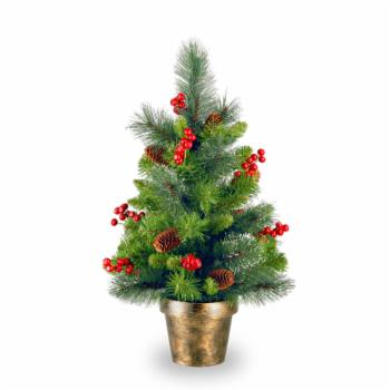 Crestwood Spruce Full Unlit Christmas Tree